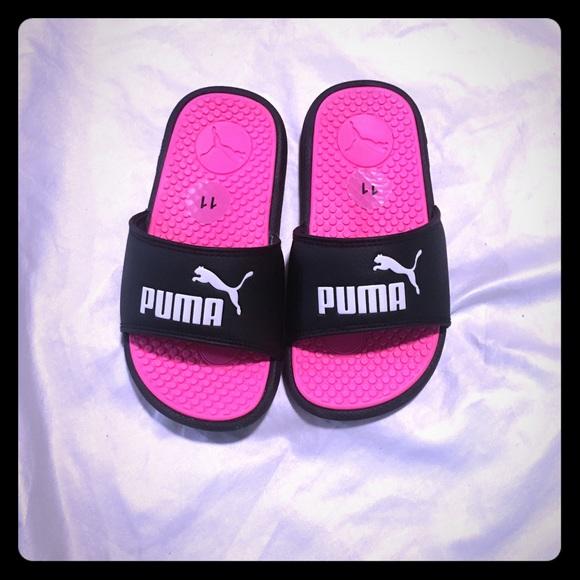 Puma Shoes | Girls Puma Slides | Poshmark